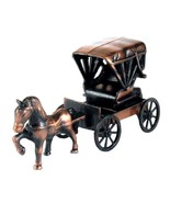 Carriage with Horse Die Cast Metal Collectible Pencil Sharpener - $6.50