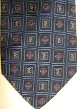 GORGEOUS Robert Talbott Blue Squares With Red and Gold BOC Handmade Tie - $29.99