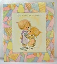 Vintage Betsey Clark Happy Memories Are To Treasure Hallmark Scrap Book ... - $26.55