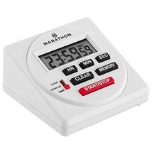 MARATHON TI080001 Large Digital 24 Hour Timer with Countdown, Count-up a... - $30.49
