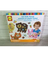 ALEX Tots Fluffy Friends Paper Animal Activity Sticky Collage Boards Cra... - $24.74