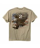 Buck Wear NRA 2nd Amendment Eagle USA Flag Bear Arms Gun Patriot Mens Sh... - £15.96 GBP