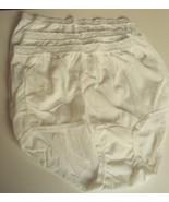 Three Dixie Belle Lingerie Nylon lace trimmed Briefs Size 8 White Style ... - €12,21 EUR