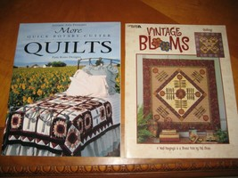 wall hanging quilting and quilt patterns 2 books Leisure arts Pat Sloan Pam Bono - $11.88