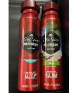 Lot Of (2) Old Spice Red Collection PURE SPORT and FIJI Scent Body Spray... - $18.99