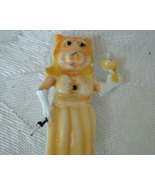 Vintage Muppets Pin ~ Miss Piggy Holding Drink - $6.00