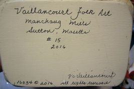 Vaillancourt Woodland Santa with Gold Lantern signed by Judi Vaillancourt image 8