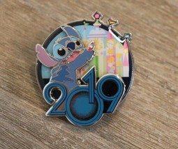 Disney - Disneyland Paris Exclusive Sold Out 2019 Stitch It's A Small World Pin - $18.80