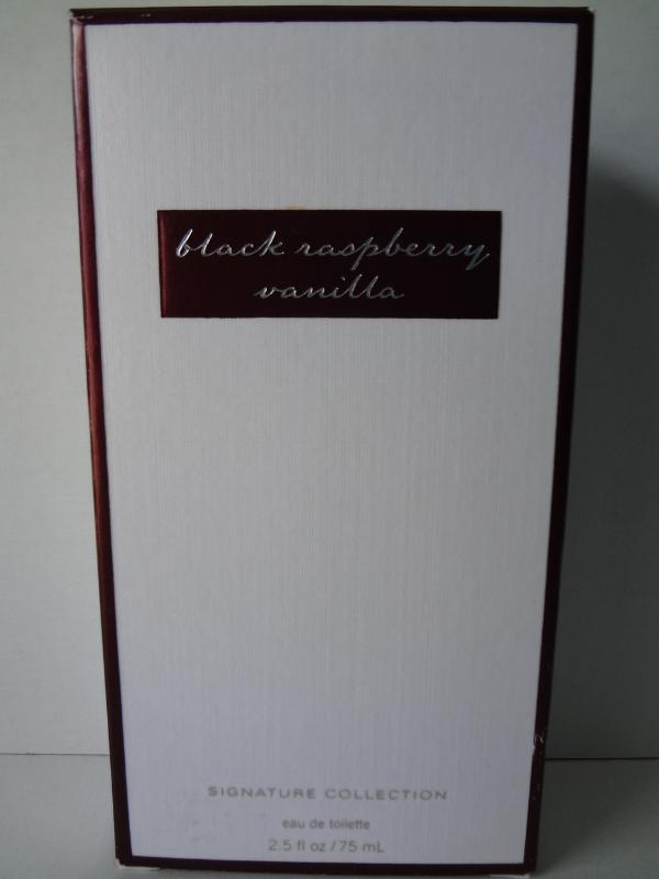 Bath & Body Works Black Raspberry Vanilla Eau De Toilette 2.5 fl oz / 75 ml