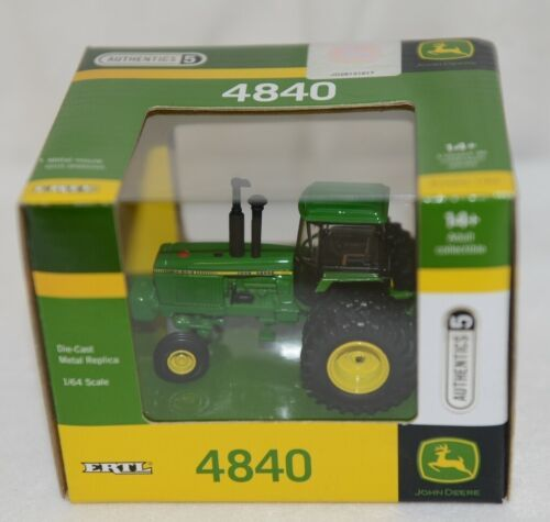 John Deere LP51304 Authentics 5 Die Cast Metal Replica 4840 Tractor