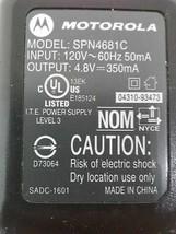Motorola AC Adapter SPN4681C 4.8V 350mA - ₹866.83 INR