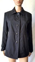 Women's Gap Black  Jacket  Button-Up Collared Casual size Small - $11.31