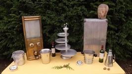 Rare étagère dispenser 1950 french bakery art deco mid century industria... - $260.00