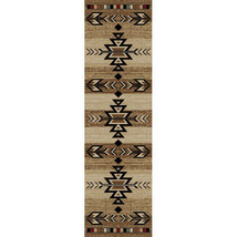 "2x8 (2'3"" x 7'7"") Runner Southwestern Tribal Lodge Cabin Area Rug - $65.00"