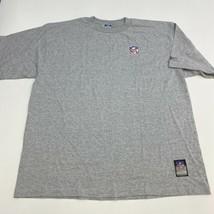 Reebok NFL Team Shirt Men's 2XL XXL Short Sleeve Gray Crew Neck Cotton B... - $17.99