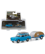 1961 Volkswagen Type 3 Squareback Blue with Tear Drop Trailer Hitch & To... - $23.61
