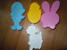 Vintage 4 Hallmark Easter Cookie Cutter Set 1979 - $15.99