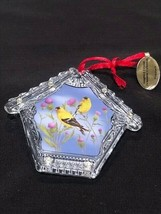 Danbury Mint Gold Finch Holiday Ornament - $9.89