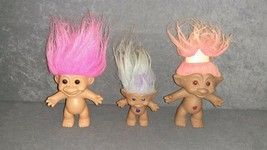 Troll Doll: Lot of 3 - $13.00