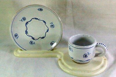 Primary image for Italian Daisy Demitasse Cup And Saucer Set