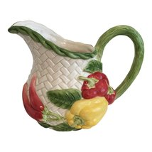 Mid 20th Century Fitz and Floyd Vegetable Motif Pitcher - $56.00