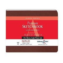 Stillman  Birn Alpha Softcover Sketchbook, Heavyweight 100lb, White, 48 ... - $29.18