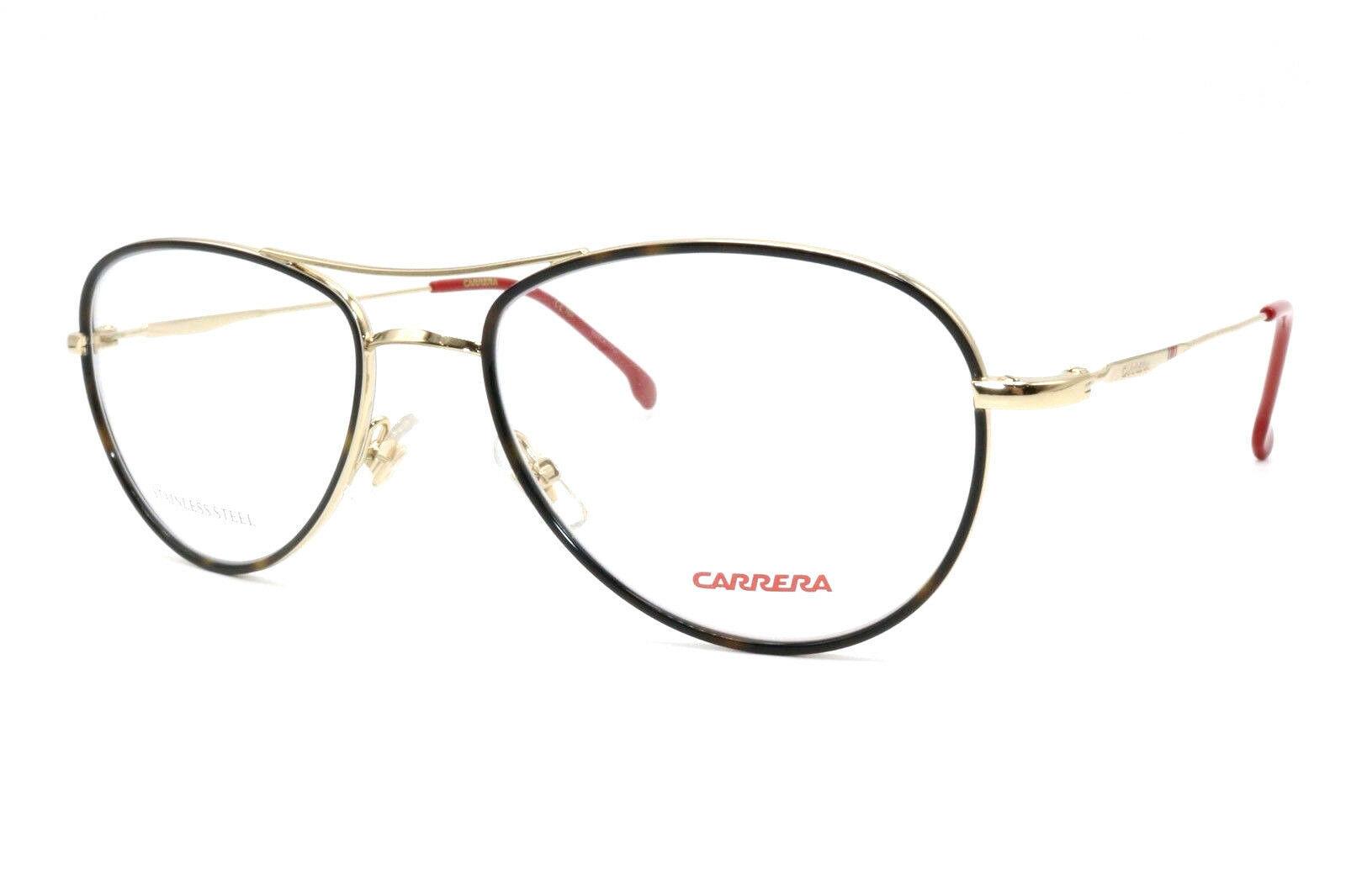 New Authentic Carrera 169/V 06J Tortoise Gold Men's Eyeglasses 54-18-140 W/Case - $88.11