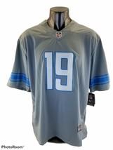 Nike NFL On Field Color  Gray Jersey Men  #9 STAFFORD Detroit Lions Stitch  XL - $77.49