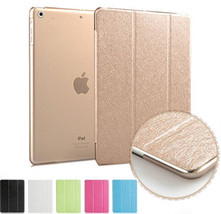 UK Silk Leather Smart Magnetic Stand Case Cover for Apple iPad Mini 1 2 3 4 - $6.64