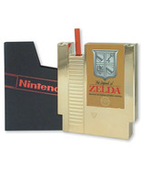 The Legend of Zelda Gold NES Cartridge Canteen with Straw and Funnel NEW... - $24.14