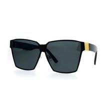 Modern Oversized Fashion Sunglasses Womens Square Designer Shades - $12.95