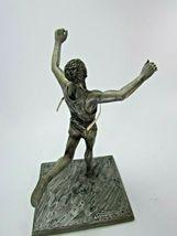 Vintage 1984 Track Field Sculpture Telephone AT & T Marcel Jovine 31519 image 6