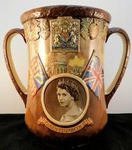 "R.D. Presentation Loving Cup - ""Queen Elizaabeth II Coronation* - Scarce - $213.74"
