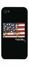 Case Scenario Keith Haring US Flag iPhone 4/4S Clip On Protective case