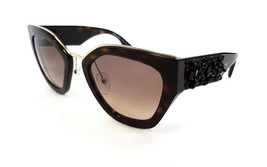 PRADA Women's Sunglasses PR10TS 2AU3D0 140 Dark Havana MADE IN ITALY - New! - $199.95