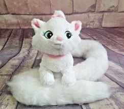 "Disney Parks Marie Plush Kitten Long Wrap Around Tail 48"" Aristocats - $18.99"