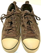 UGG 1888 Evera Womens 7 Brown Suede Sheepskin Lining Tennis Shoes Sneakers - $66.81 CAD