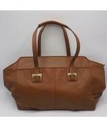 Coach F25205 Taylor Leather Alexis Carry All Handbag Purse Brown - $103.94