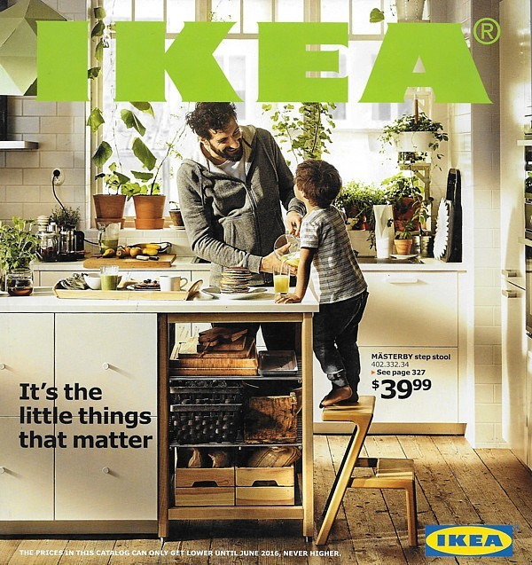 IKEA 2016 home furnishings store catalog magazine furniture Sweden USA