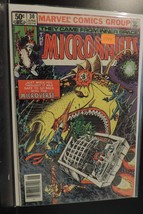 #30 The Micronauts 1981 Marvel Comic Book D394 - $4.46