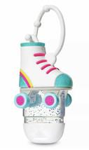NWT Bath & Body Works Roller Skate Pocket *Bac Holder Case Clip Rainbow Glitter - $11.90