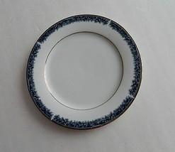 Noritake Legendary China Edgerow pattern #4078 Blue - 1 Salad / Luncheon... - $10.88