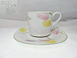 Studio Nova French Tulips CH007 Cup & Saucer - $12.86