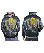 hoodie men's zipper Rainbow Six Siege - $48.99