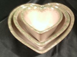 Stoneware Heart Shaped Serving Bowls AA-192037 (3 pieces) image 8