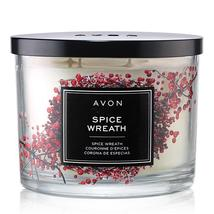 Avon Spice Wreath Candle - $19.99
