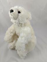 """Aurora Polar Bear Plush 9"""" White Stuffed Animal toy - $9.95"""