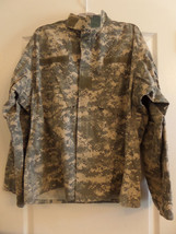 ACU Large Regular Digital Camo Long Sleeve Shirt ARMY NSN: 8415-01-519-8599 - $6.95