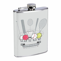 Cruel Sport Get Fat Em1 Flask 8oz Stainless Steel Hip Drinking Whiskey - $13.81