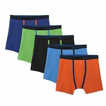 Fruit of the Loom Boys Micro Mesh Boxer Briefs, Assorted Colors (Medium, - $15.14